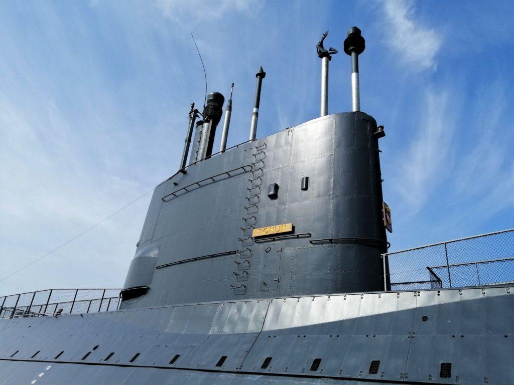 onderzeeboot de tonijn