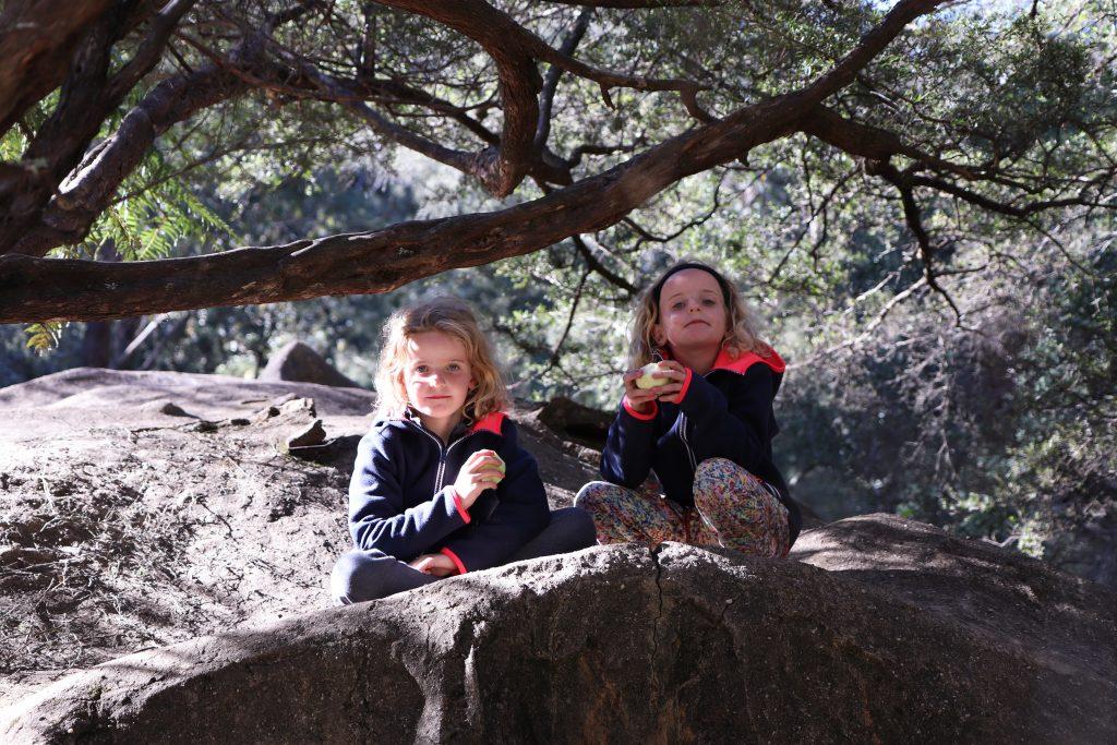 Blue Mountains met kinderen