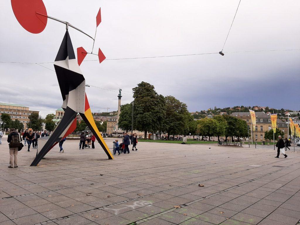 Stuttgart met kind