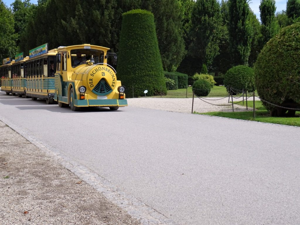 schönbrunn treintje