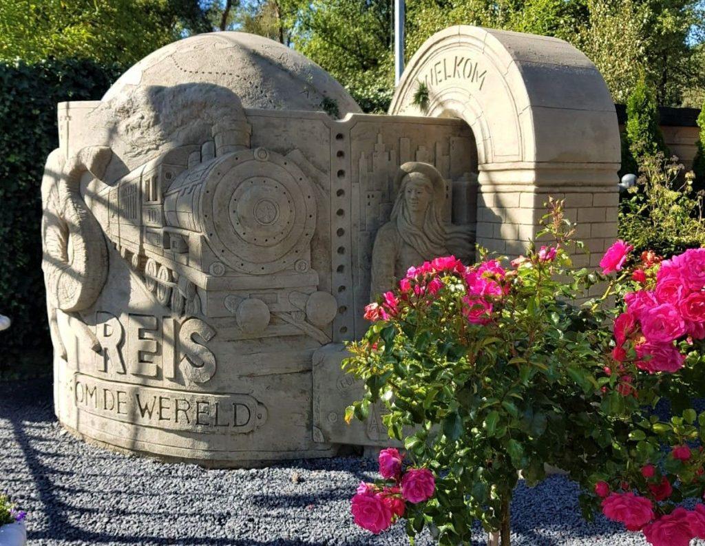 Veluws Zandsculpturenfestijn met kinderen