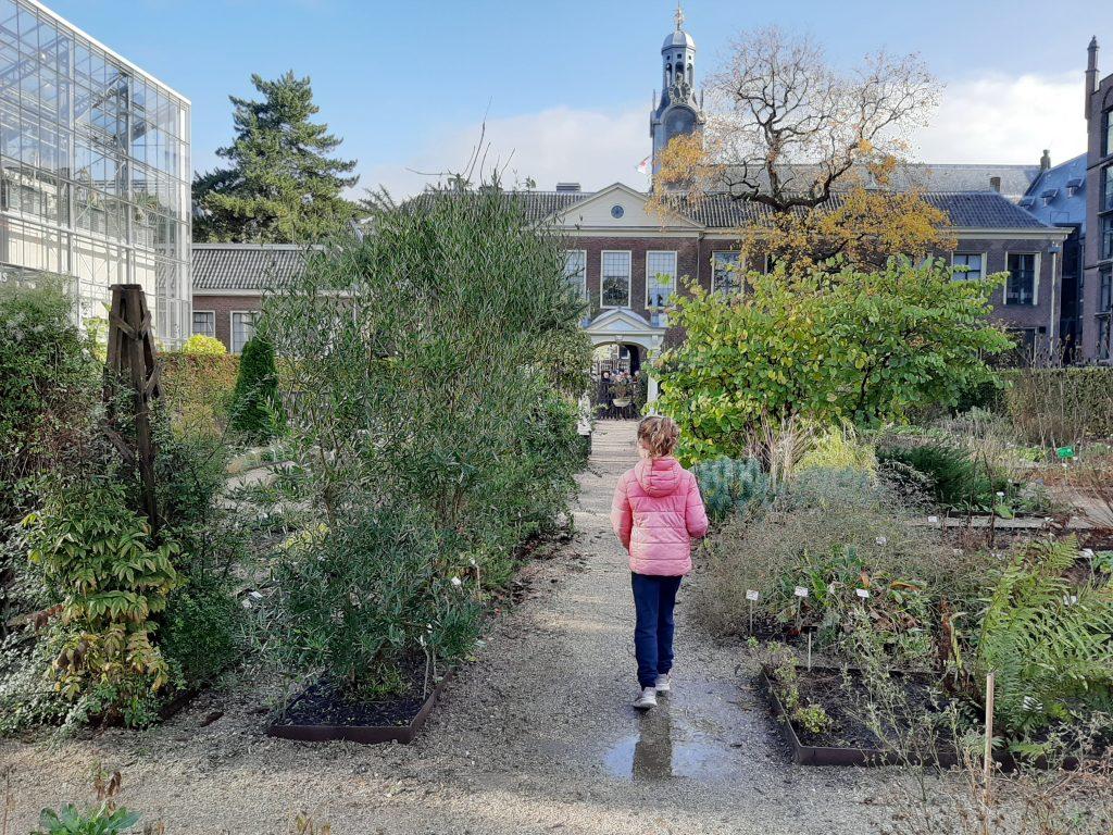Hortus Leiden met kinderen