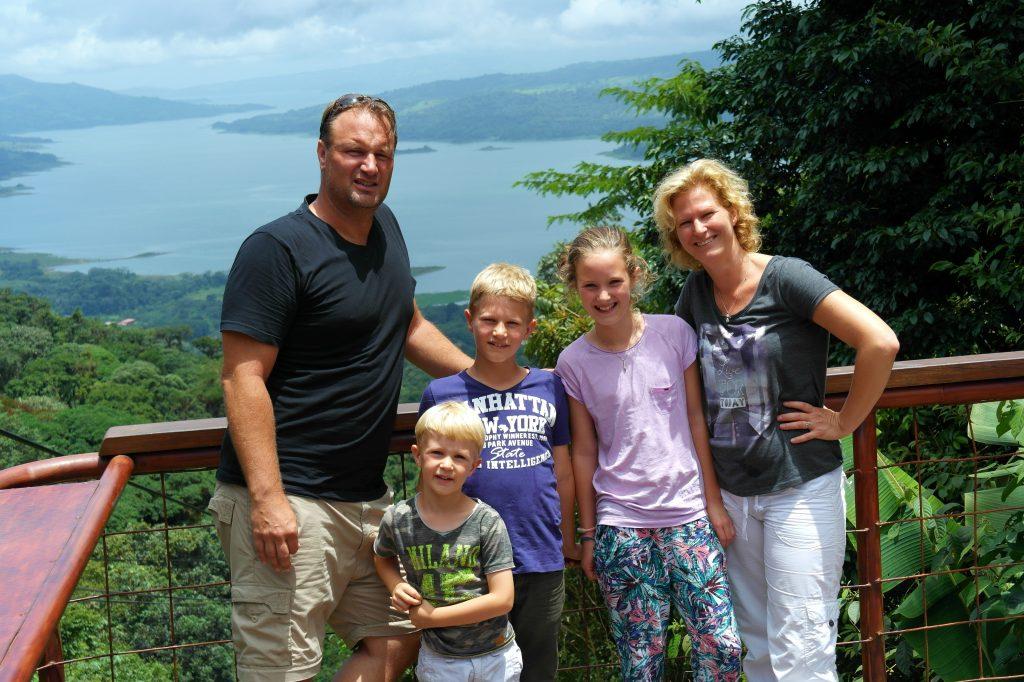 Costa Rica met gezin
