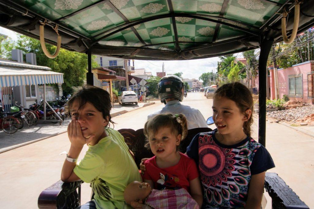 Cambodja met gezin