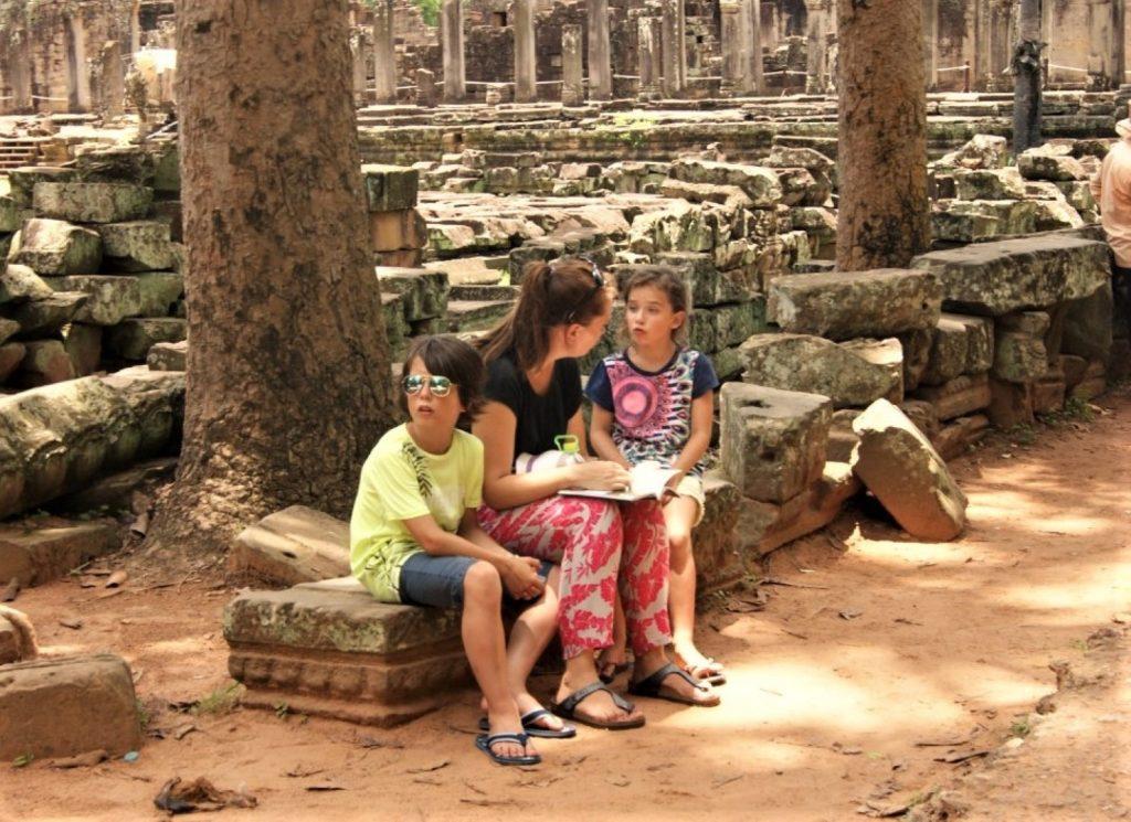 Siem Reap met kinderen