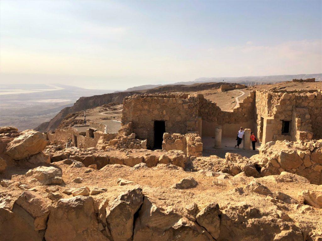 de ruines van Messada