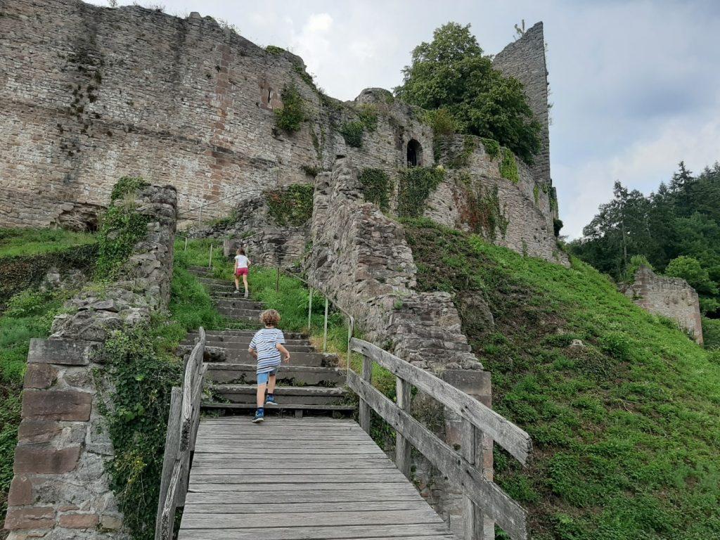 kasteelruïne Schauenburg