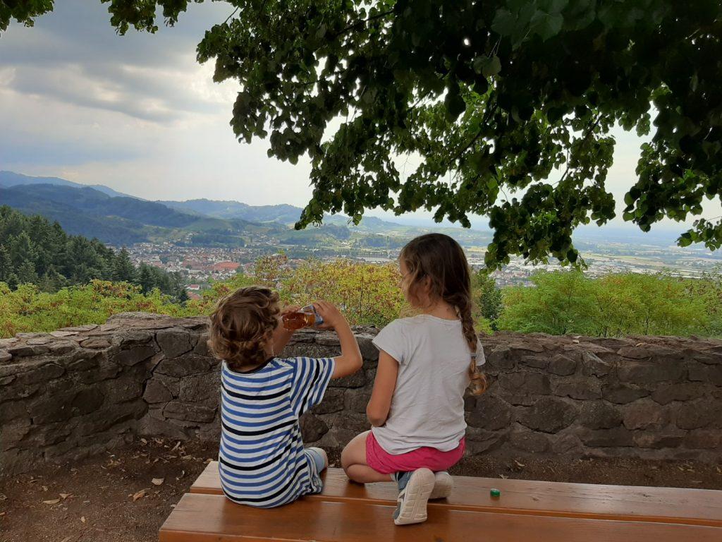 Oberkirch met kinderen