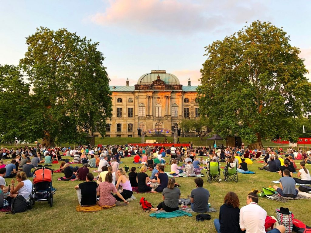 Dresden met kind