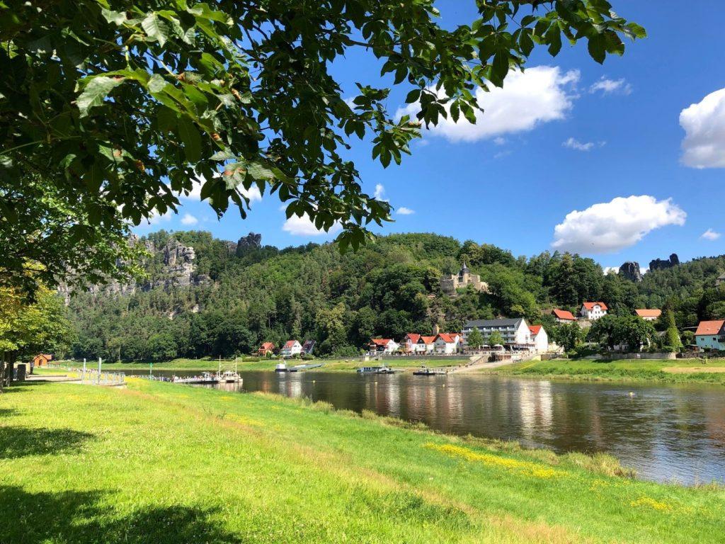 Sächsische Schweiz .