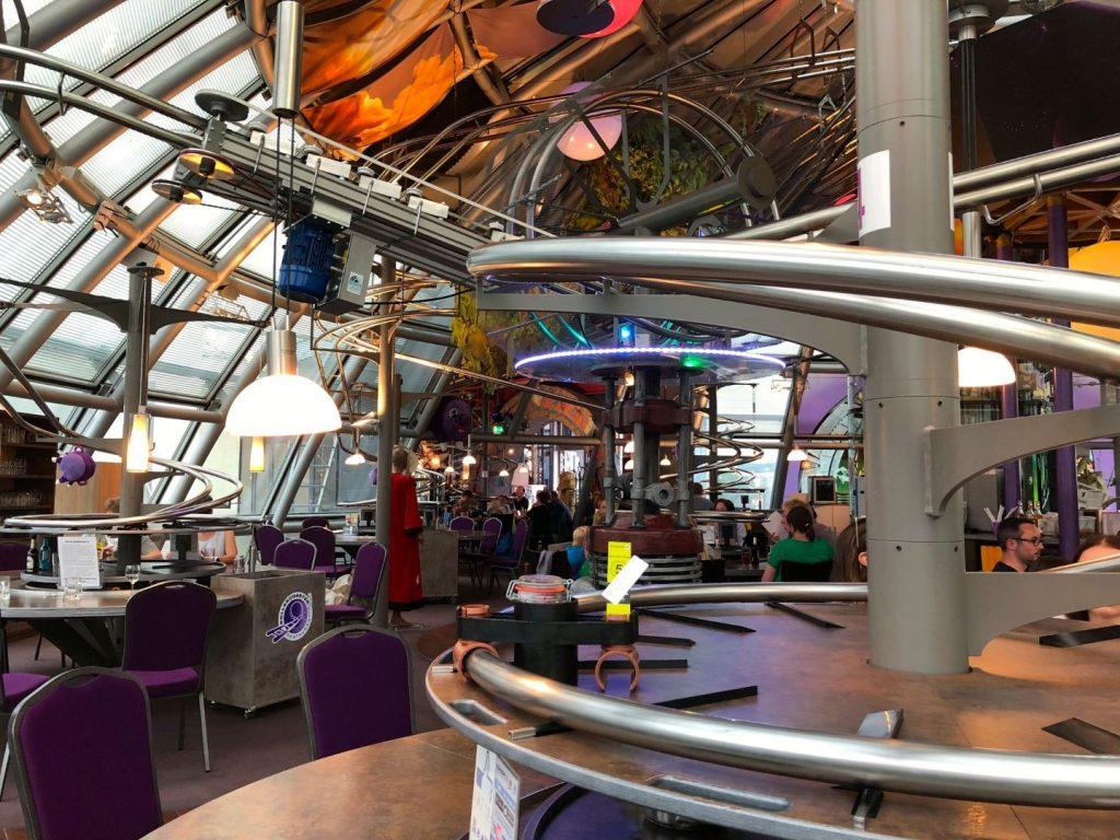 Schwerelos, het achtbaan restaurant