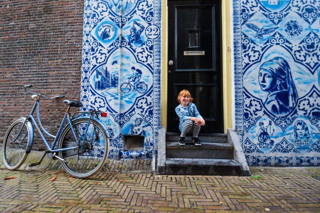 dagje Delft met kids