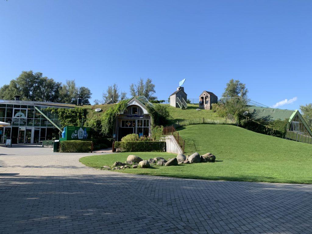 huis op de heuvel