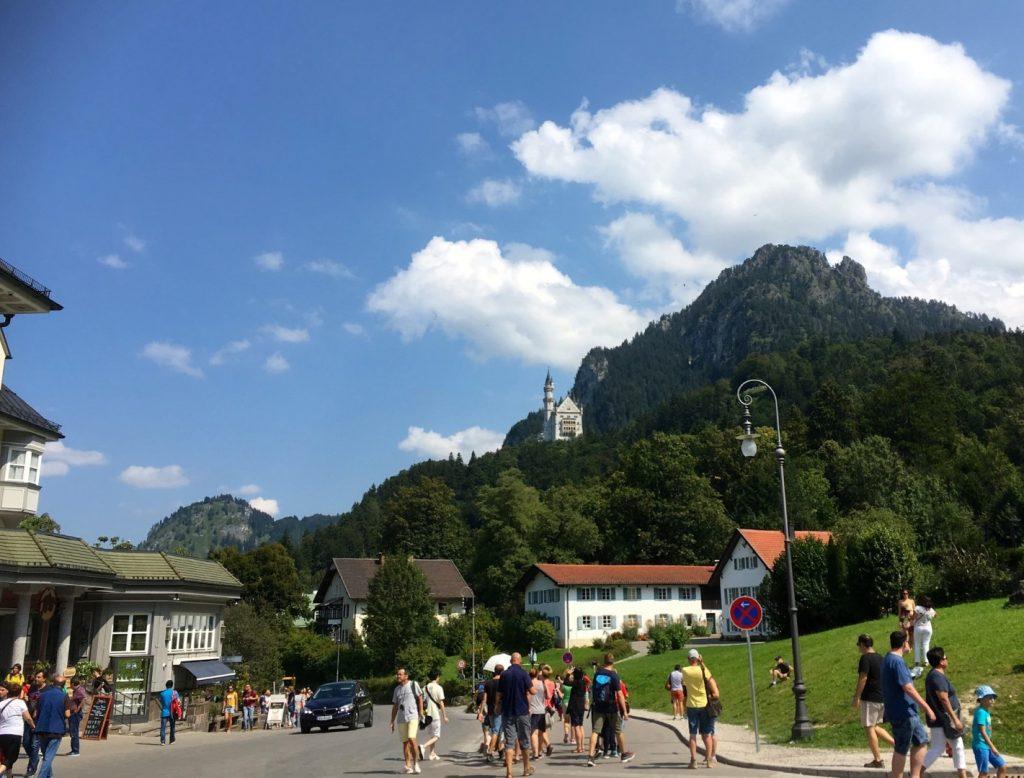 toeristisch centrum Hohenschwangau