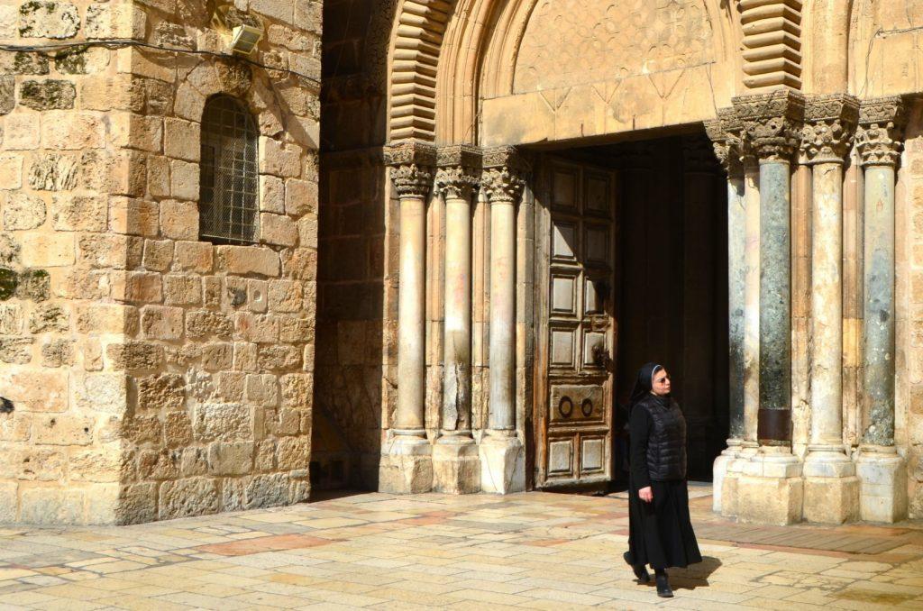 Heilige grafkerk in Jeruzalem
