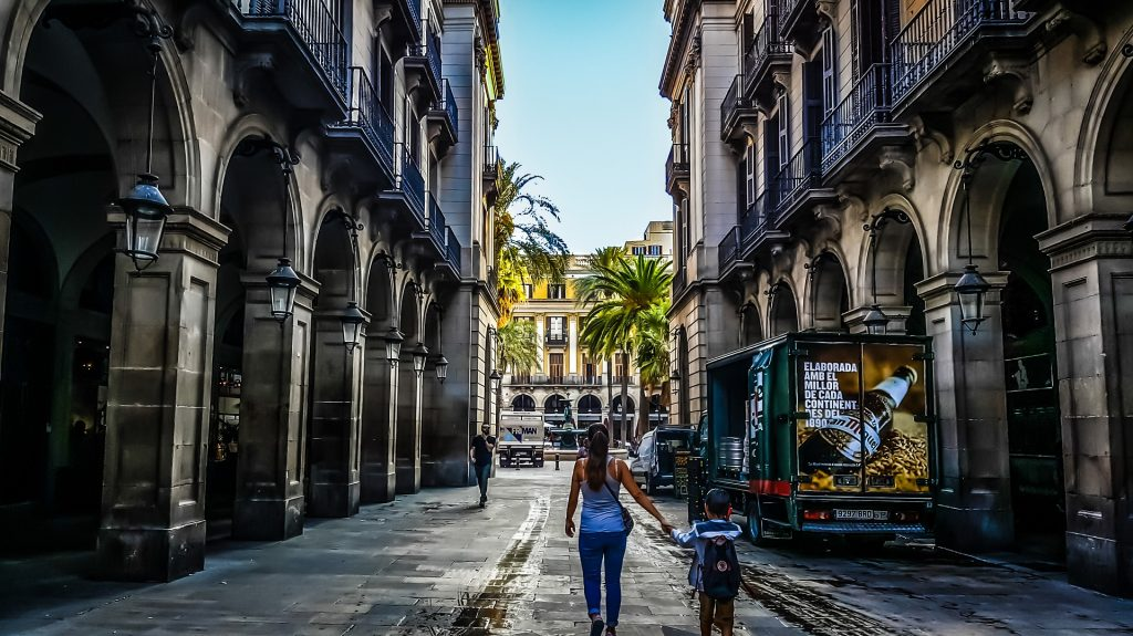 stedentrip Spanje kind
